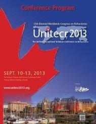 Final Program - UNITECR 2013