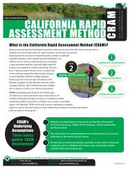 California rapid assessment method C - Cram