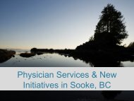 CSCPresentationtoSoo.. - District of Sooke
