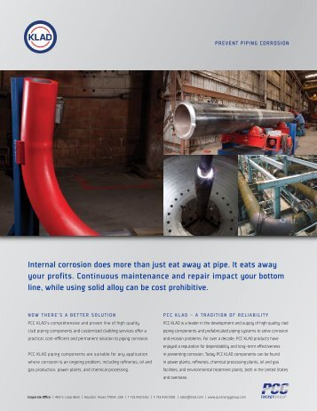 Prevent Piping Corrosion - PCC Energy Group