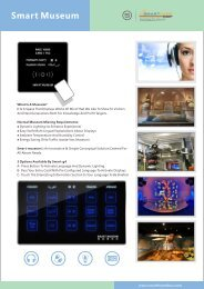 Smart Museum.cdr - Smart-Bus Home Automation