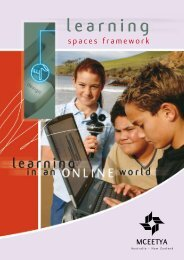 Learning Spaces Framework - Ministerial Council for Education ...