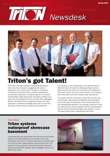 Newsdesk - Triton Chemicals