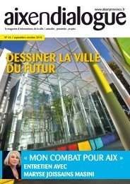 DESSINER LA VILLE DU FUTUR - Aix-en-Provence