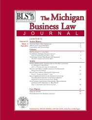 Recent Significant Sixth Circuit Opinions Concerning ... - Honigman