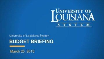 ULS Budget Webinar 3-20-15 FINAL