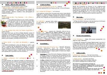 Les évènements MP2013 - Un coin Tranquille en Provence L ...