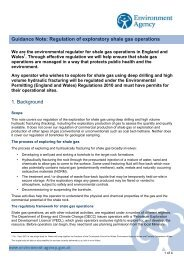 Guidance Note: Regulation of exploratory shale gas operations 1 ...