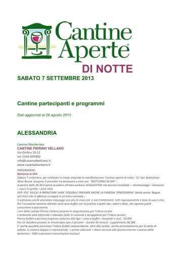 PROGRAMMI CANTINE APERTE DI NOTTE.pdf - Vini e Sapori