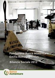 Bilancio Sociale 2012.pdf - Fondazione Banco Alimentare