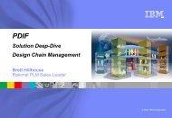 Solution Deep-Dive Design Chain Management - IBM