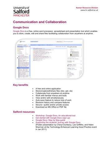 Google Docs - Human Resources
