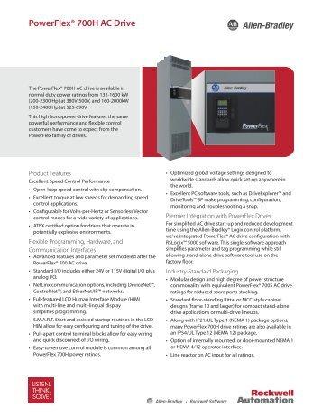 PowerFlex® 700H AC Drive