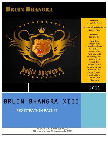 Judging Criteria - Bruin Bhangra