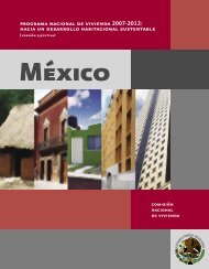 programa nacional de vivienda 2007-2012 - Cámara Mexicana de ...