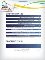 Diretoria e Comissão - 66 Congresso Brasileiro de Cardiologia