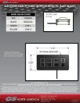 4 ROCKER SWITCH PANEL WITHOUT BEZEL (In ... - GSNA.com - Page 3