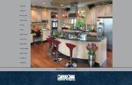 Millennia Kitchen Brochure - Canyon Creek Cabinet Company