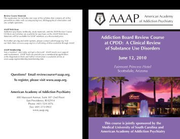 View the 2010 Review Course Program here (PDF) - American ...