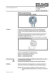 Funk-Management Universalsender L-Leiter Art.-Nr.: FUS ... - Eibmarkt