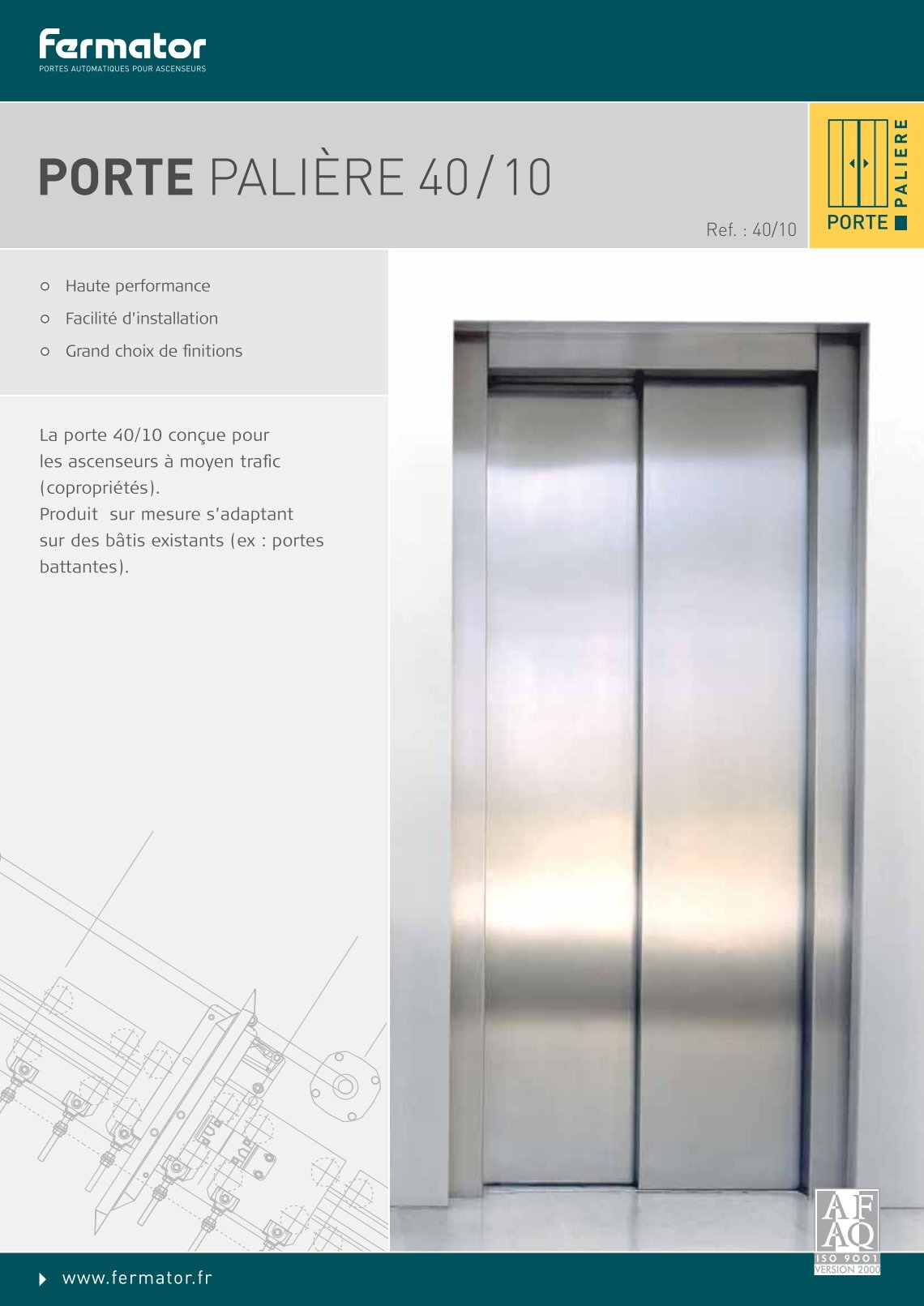 Free Magazines From FERMATORFR - Porte paliere