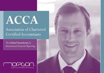 ACCA Brochure - Morgan