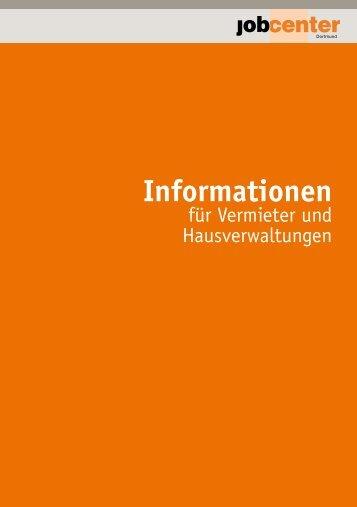 Informationen für Vermieter - Jobcenter Dortmund