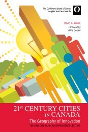 21st Century Cities in Canada: The Geography of Innovation