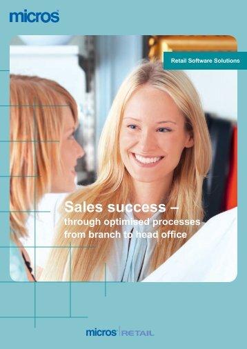 Sales Success - Micros