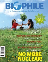 BIOP HILE 19 — DEC 07/JAN 08 — R25 - Biophile Magazine