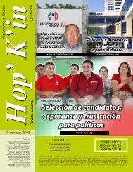 Selección de candidatos, esperanza y frustración para políticos