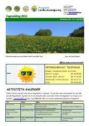 Fagmelding 2013 - Haugaland landbruksrådgjeving
