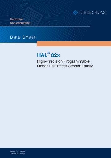 HAL® 82x - Micronas