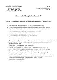 Lösung 5 (pdf) - Technische Universität München