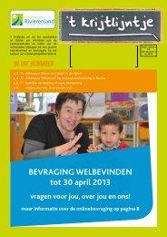 t Krijtlijntje 2013 nr 01 (jan-feb-mrt) - Scholengroep Rivierenland