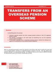 transfers from an overseas pension scheme - Legal & General