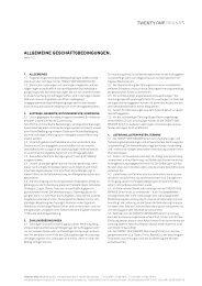 AGB (PDF) - Twenty One Brands