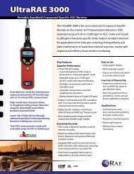 UltraRAE 3000 - Envirocon.co.za