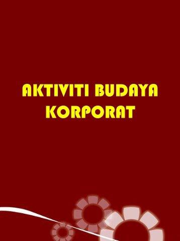 AKTIVITI BUDAYA KORPORAT
