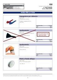 Ausili per la casa.pdf - Ortopedia Paoletti