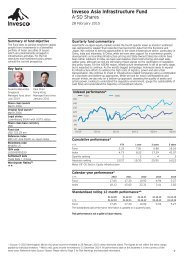 Invesco Asia Infrastructure Fund - A Shares - Invesco Perpetual