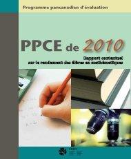Rapport contextuel - Conseil des ministres de l'Éducation du ...