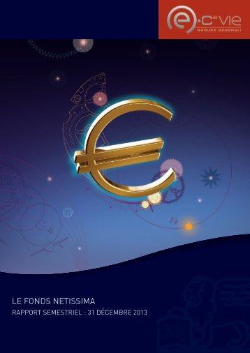 Rapport semestriel Netissima - Monfinancier.com