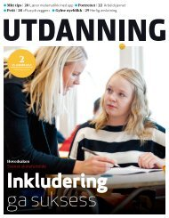 Utdanning nummer 02 2013 - Utdanningsnytt.no