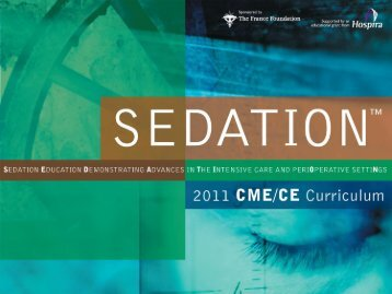 Assessing and Managing Sedation in the Intensive Care and the ...