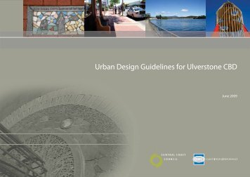 Urban Design Guidelines for Ulverstone CBD - Central Coast Council