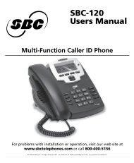 Nortel – T7316 Telephone User Card