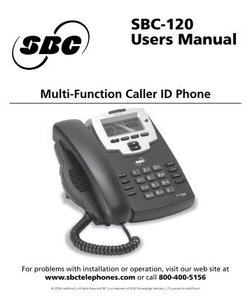 Users Manual SBC-120 - Orficn.net