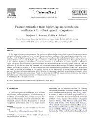 Feature extraction from higher-lag autocorrelation ... - CiteSeerX