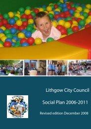 Lithgow City Council Social Plan 2006-2011